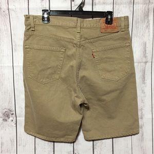 0dc44c87d7 Levi's Shorts | Levis 505 Regular Fit Tan Khaki Mens 36 Usa | Poshmark